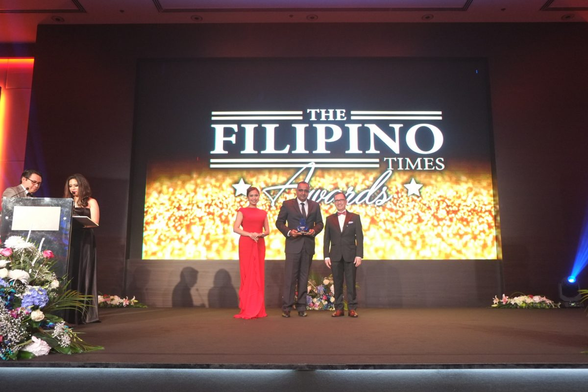 Al Habtoor Motors Mitsubishi awarded  the best value for money car brand  at The Filipino Times Awards 2017