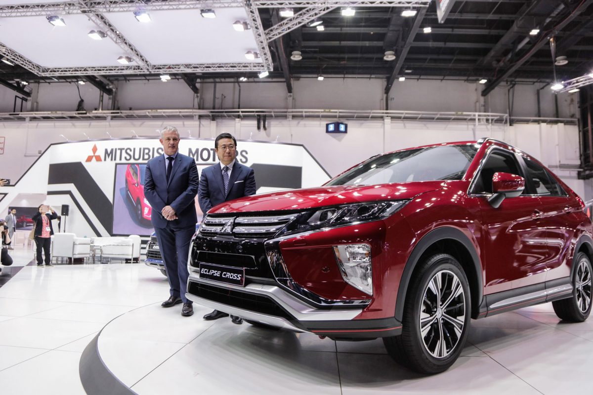 Al Habtoor Motors launches Mitsubishi's new brilliantly designed compact SUV crossover at the largest Motor Show in the MENA Region