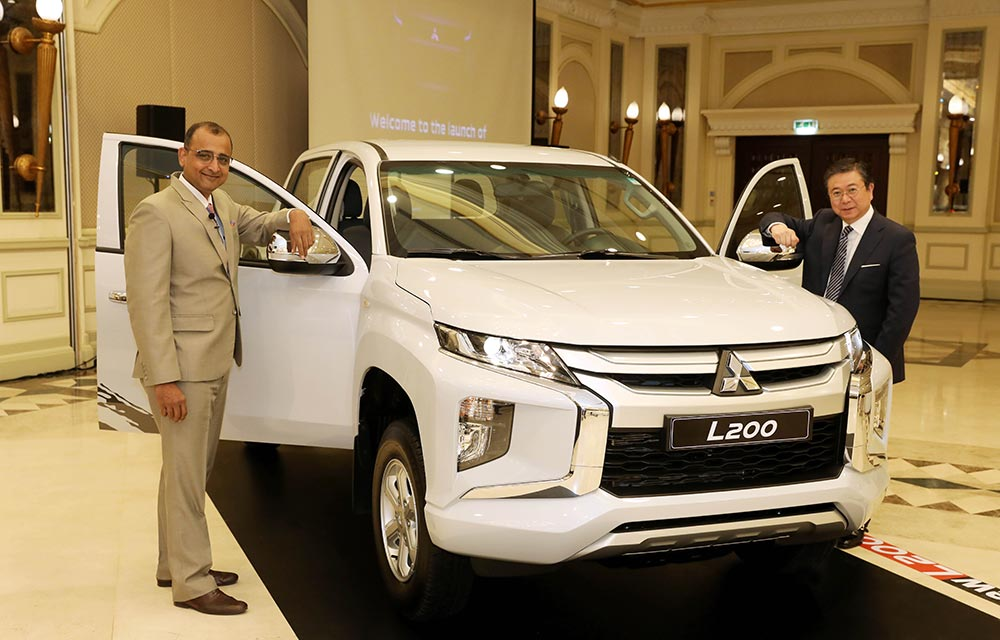 Al Habtoor Motors launches  the all-new L200 pick-up truck in the UAE